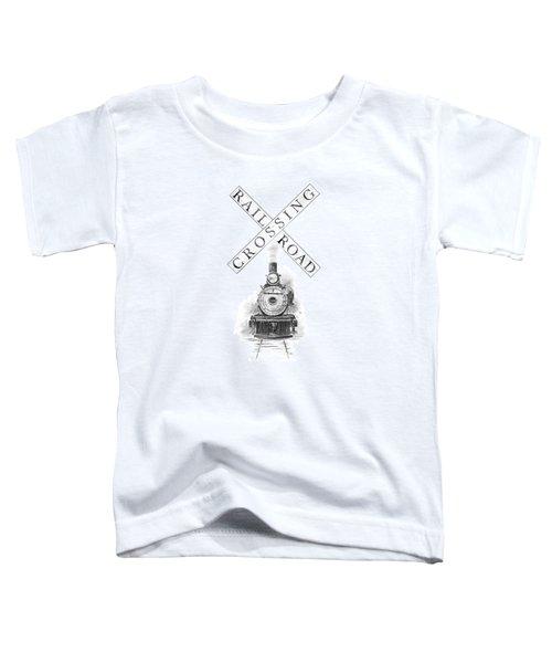 Railroad Crossing Toddler T-Shirt