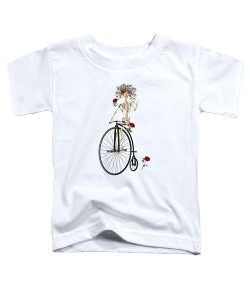 Rambling Rosy Penny Farthing Toddler T-Shirt