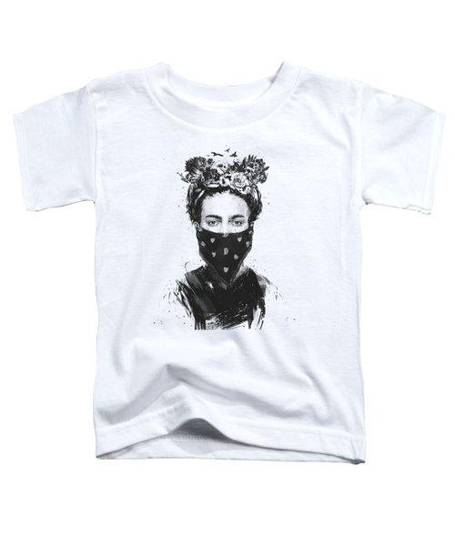 Rebel Girl Toddler T-Shirt