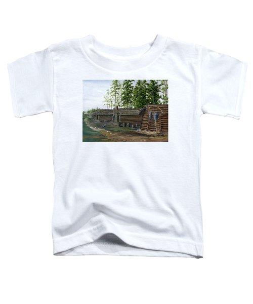 Rebel Huts, Port Hudson, Louisiana 1863 Toddler T-Shirt