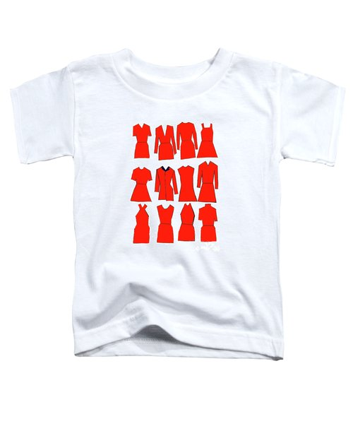 Red Dresses Toddler T-Shirt