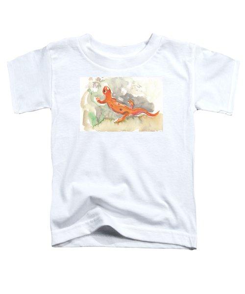 Red Eft Toddler T-Shirt