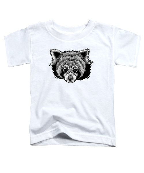 Red Panda - Ink Illustration Toddler T-Shirt
