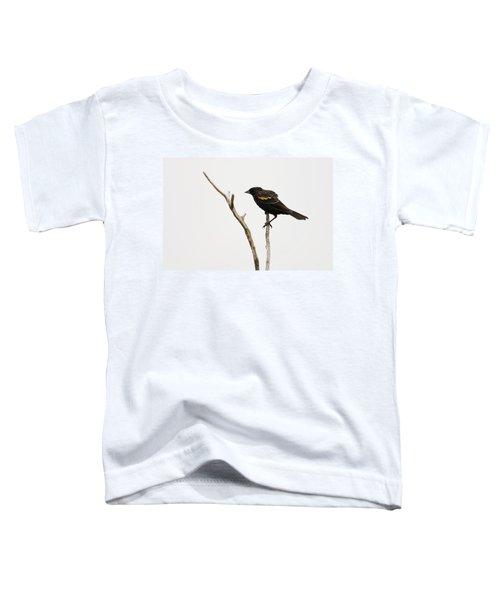 Red Winged Blackbird Toddler T-Shirt