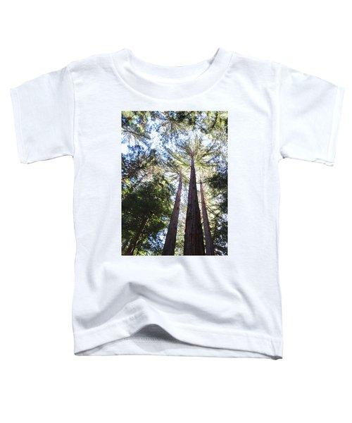 Redwoods, Blue Sky Toddler T-Shirt