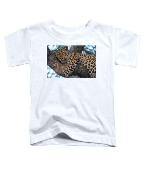 Relaxed Leopard Toddler T-Shirt