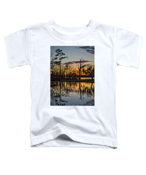 Riverside Sunset Toddler T-Shirt