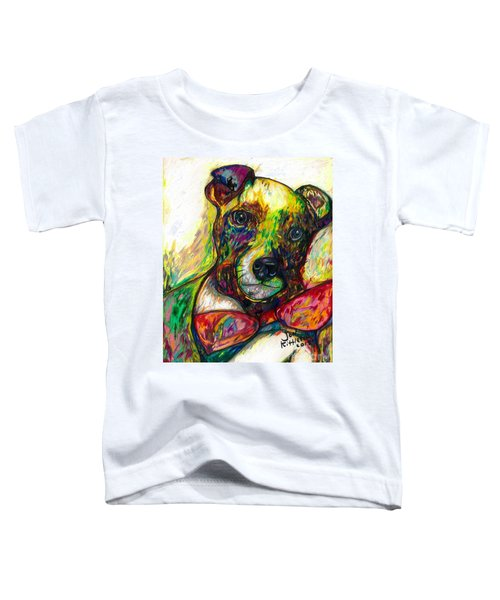 Rocket The Dog Toddler T-Shirt