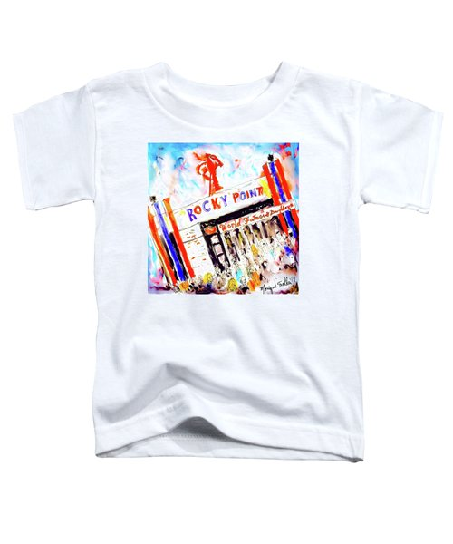 Rocky Point Chowder House Toddler T-Shirt
