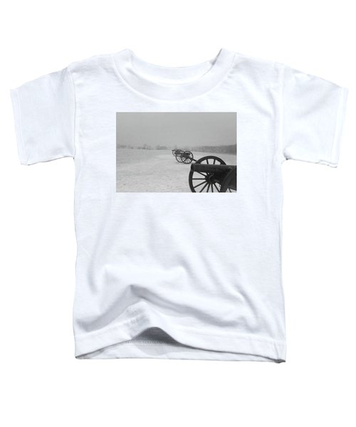 Row Of Cannon Toddler T-Shirt