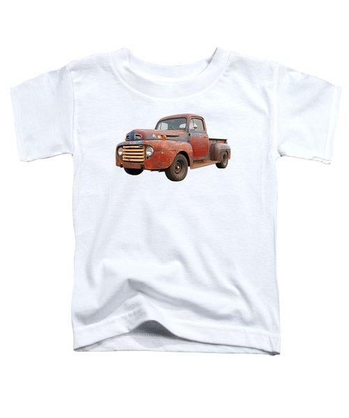 Rusty Ford Farm Truck Toddler T-Shirt