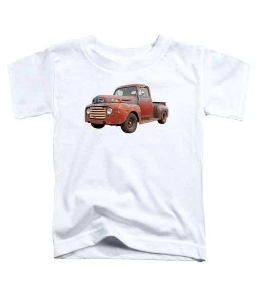 Rusty Ford Farm Truck Toddler T-Shirt