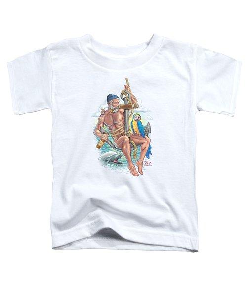 Sailor On Anchor Toddler T-Shirt