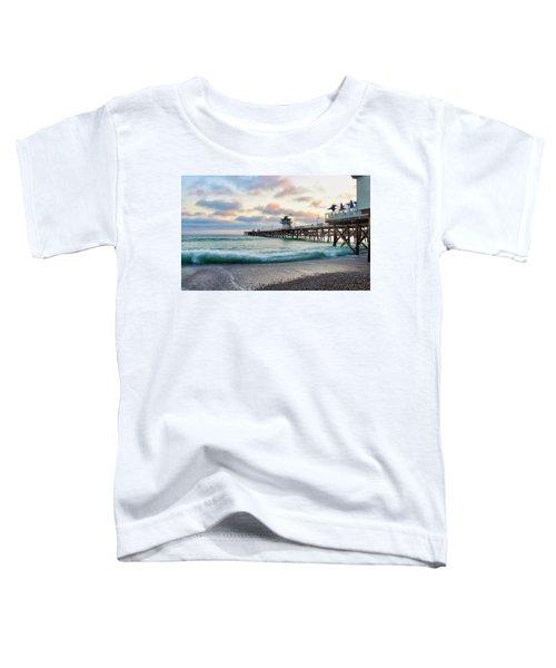 A San Clemente Pier Evening Toddler T-Shirt