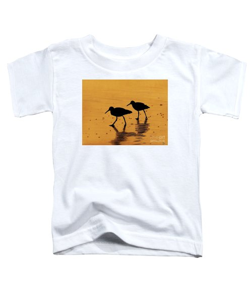 Sandpipers - At - Sunrise Toddler T-Shirt