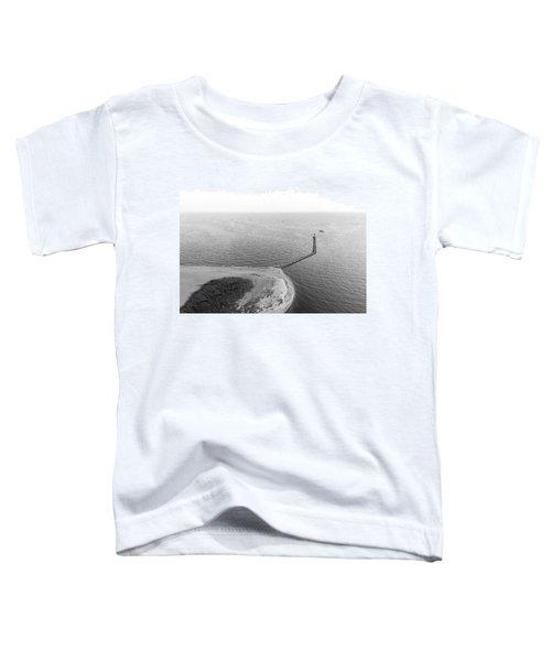 Sasco Beach Jetty Toddler T-Shirt