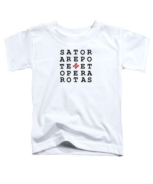 Sator Square Toddler T-Shirt