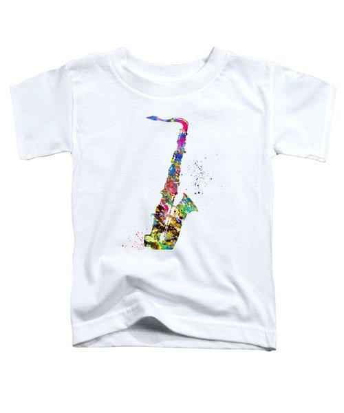 Saxophone-colorful Toddler T-Shirt