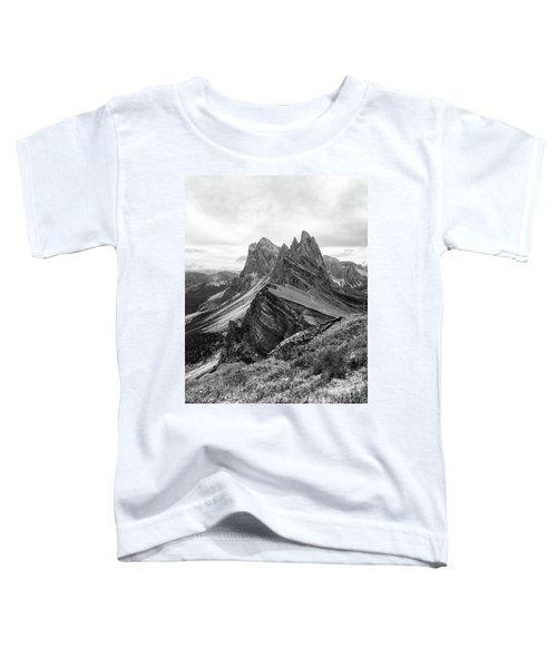 Seceda Black And White Toddler T-Shirt