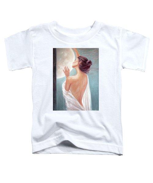 Selene Moon Goddess Toddler T-Shirt