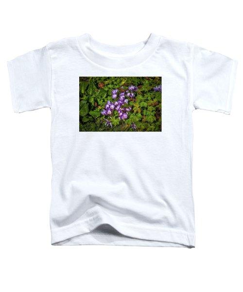 September Crocus #h9 Toddler T-Shirt