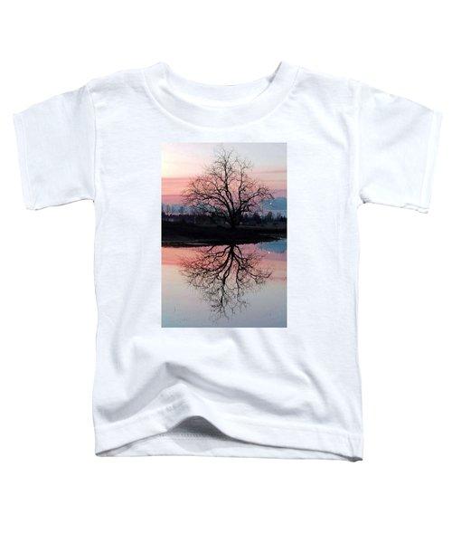 Serenity At Sunset Toddler T-Shirt