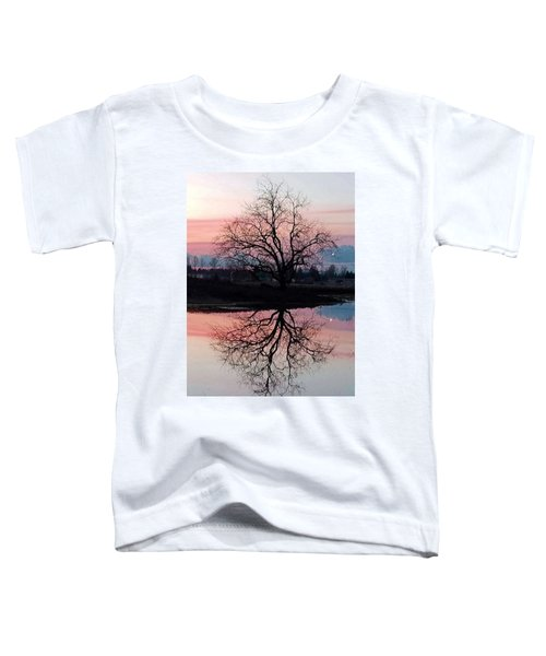 Serenity At Sunset Toddler T-Shirt