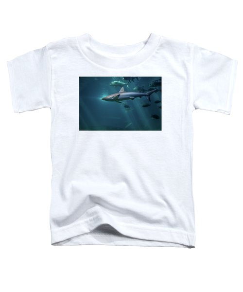 Shark Attack Toddler T-Shirt