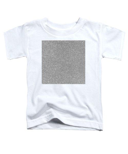 Silver Glitter  Toddler T-Shirt