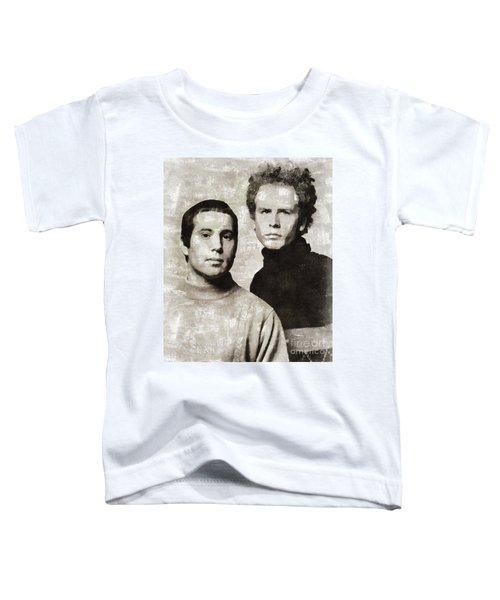 Simon And Garfunkel, Music Legends Toddler T-Shirt