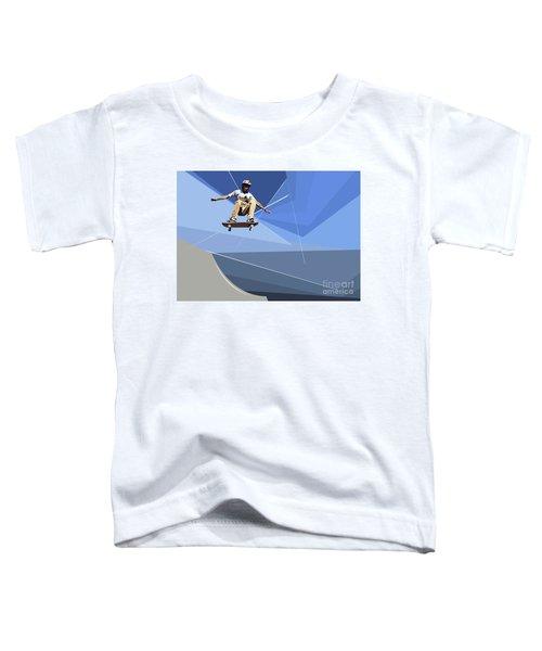 Skateboarder Toddler T-Shirt