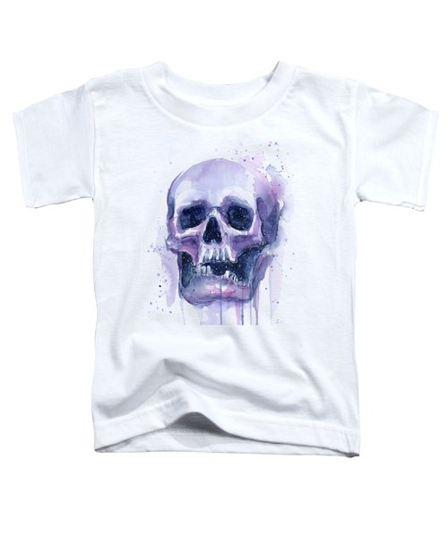 Skull In Space Toddler T-Shirt