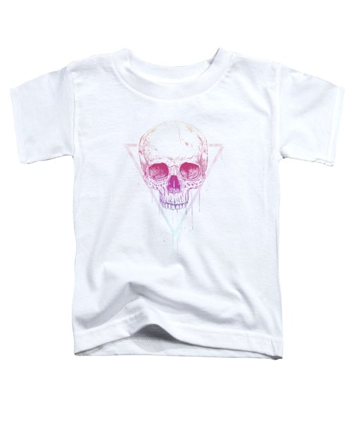 Skull In Triangle Toddler T-Shirt