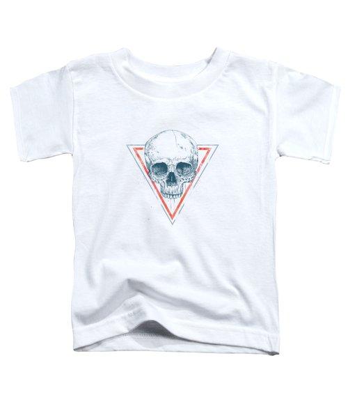 Skull In Triangles Toddler T-Shirt