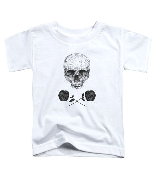 Skull N' Roses Toddler T-Shirt
