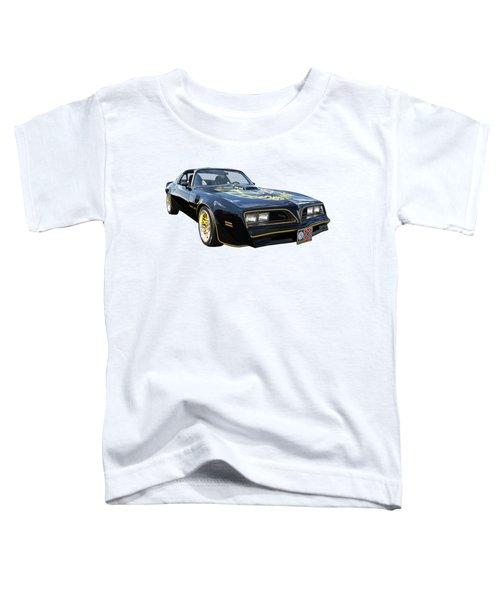 Smokey And The Bandit Trans Am Toddler T-Shirt