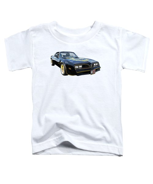 Smokey And The Bandit Trans Am Toddler T-Shirt