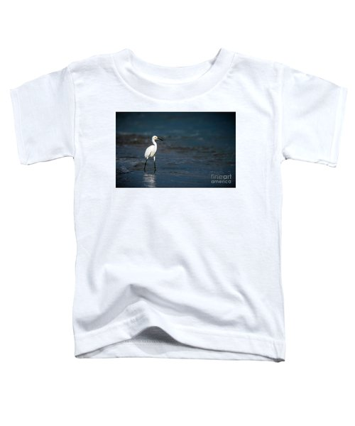 Snowy In The Surf Toddler T-Shirt