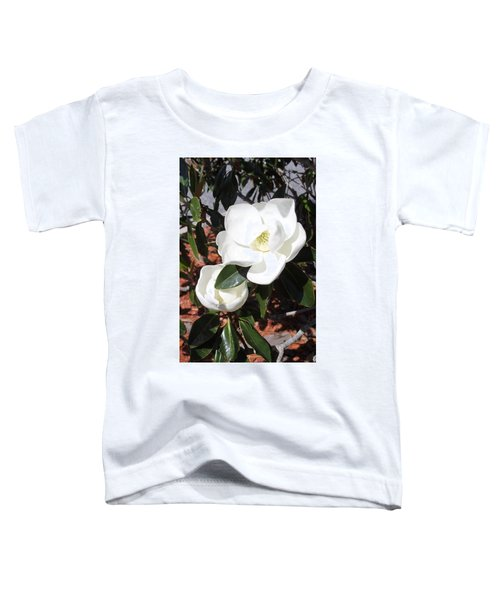 Sosouthern Magnolia Blossoms Toddler T-Shirt