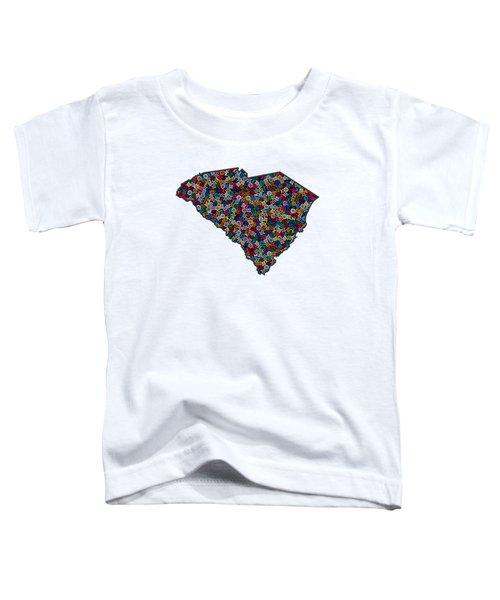 South Carolina Map - 1 Toddler T-Shirt