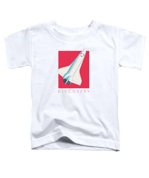 Space Shuttle Spacecraft - Crimson Toddler T-Shirt