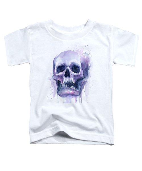 Space Skull Toddler T-Shirt