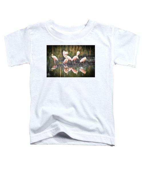 Spoonbill Reflection Toddler T-Shirt