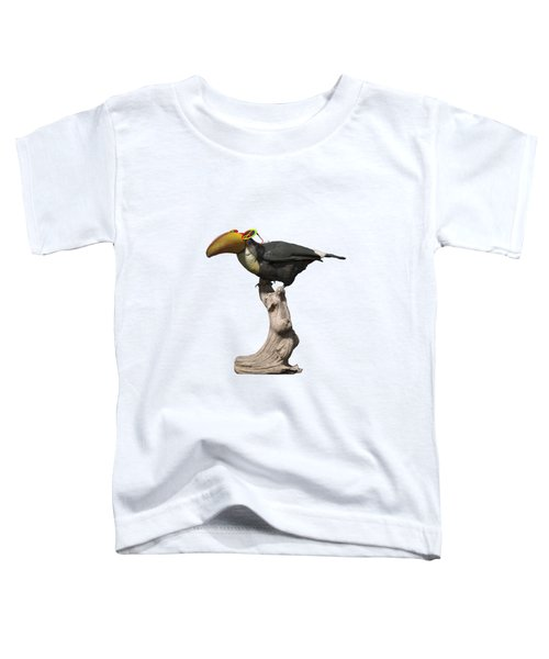 Stay Cool Toucan Png Toddler T-Shirt