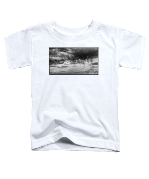 Stormy Sky In Black And White Toddler T-Shirt