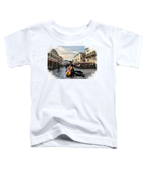 Street Music. Cello. Toddler T-Shirt