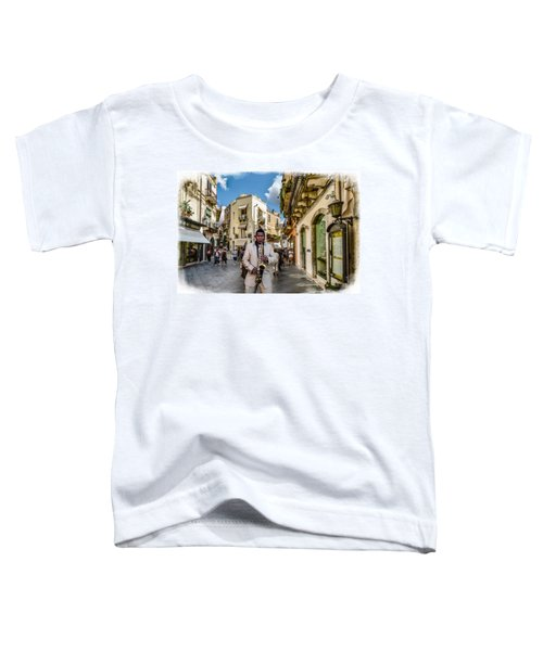 Street Music. Saxophone. Toddler T-Shirt