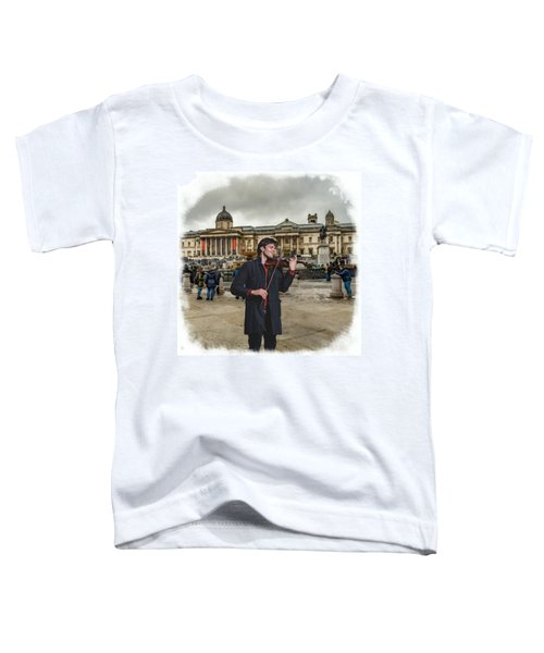Street Music. Violin. Trafalgar Square. Toddler T-Shirt