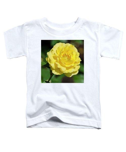 Striking In Yellow Toddler T-Shirt
