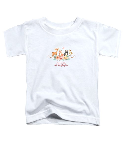 Sugar 'n Spice And Everything Nice Toddler T-Shirt